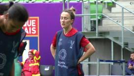 Hungary: Lyon train before Barcelona Women's Champions League final