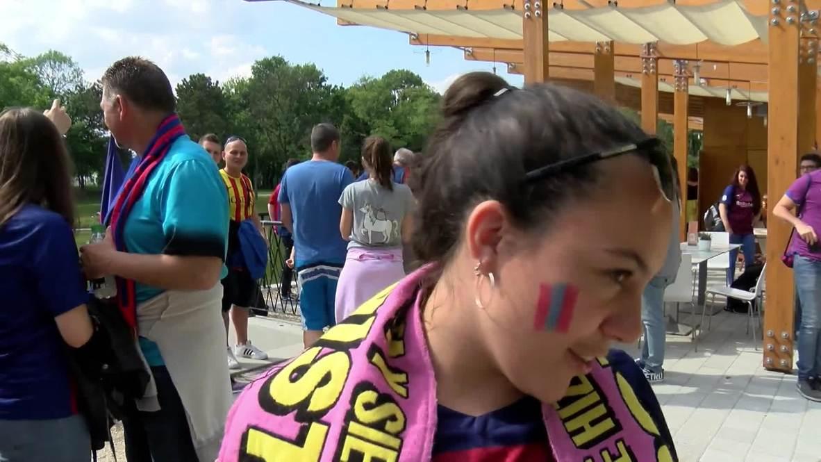 Hungary: Fans gear up for Women's Champions League final