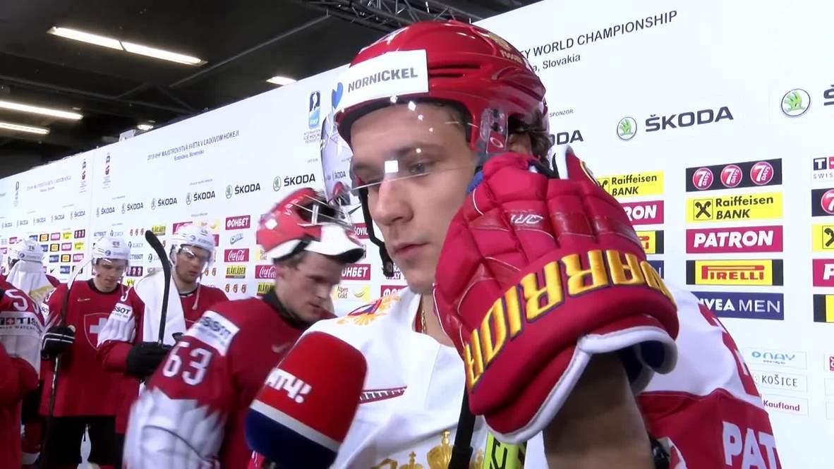 Slovakia: Russia seal sixth straight win at Ice Hockey Champs