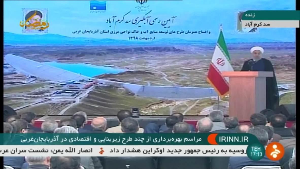 Irán: Rohaní deice que la presión de EE.UU. 'no quebrantará' a los iraníes
