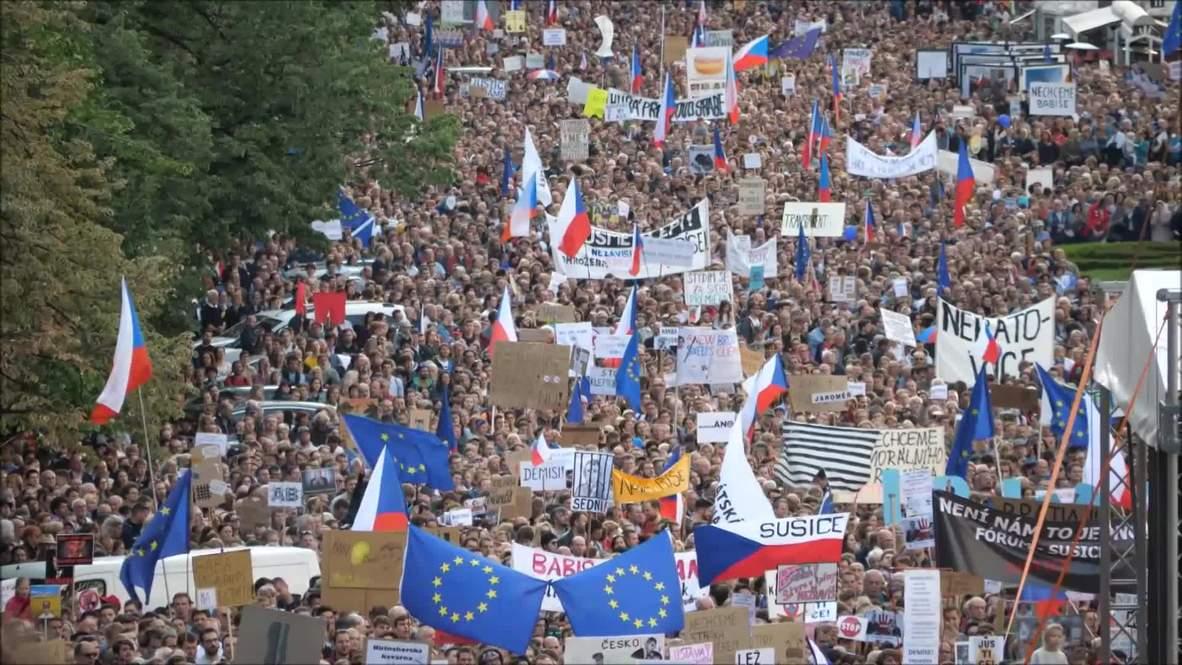 República Checa: Manifestantes piden renuncia del ministro de justicia