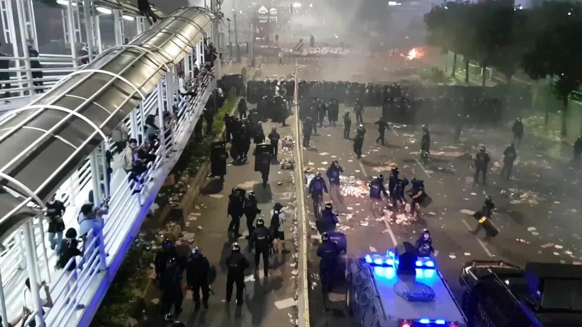 Indonesia: Alta tensión en Yakarta por protestas contra resultados de elección presidencial