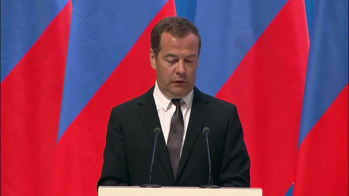 """Россия: Слово """"кризис"""" исчезло из актуальной экономической лексики - Медведев"""