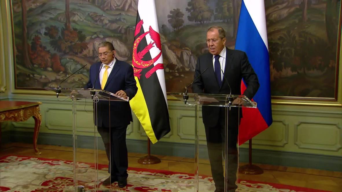 Россия: Партнёр, значимость которого трудно переоценить - МИД Брунея на встрече с Лавровым