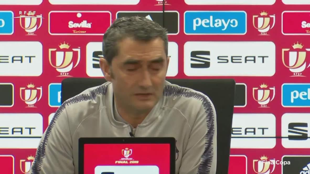 Spain: Barca must 'go forward' following Liverpool defeat - Valverde