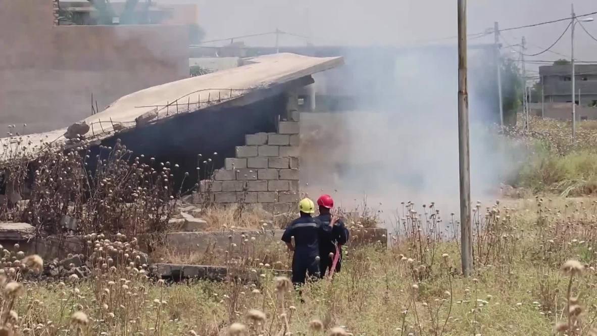 Irak: Estado Islámico acusado de quemar cultivos cerca de Mosul