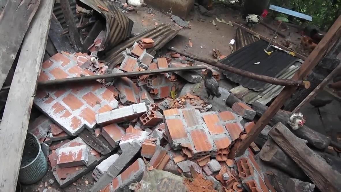 Peru: At least 1 dead as magnitude 8 earthquake rocks N. Peru