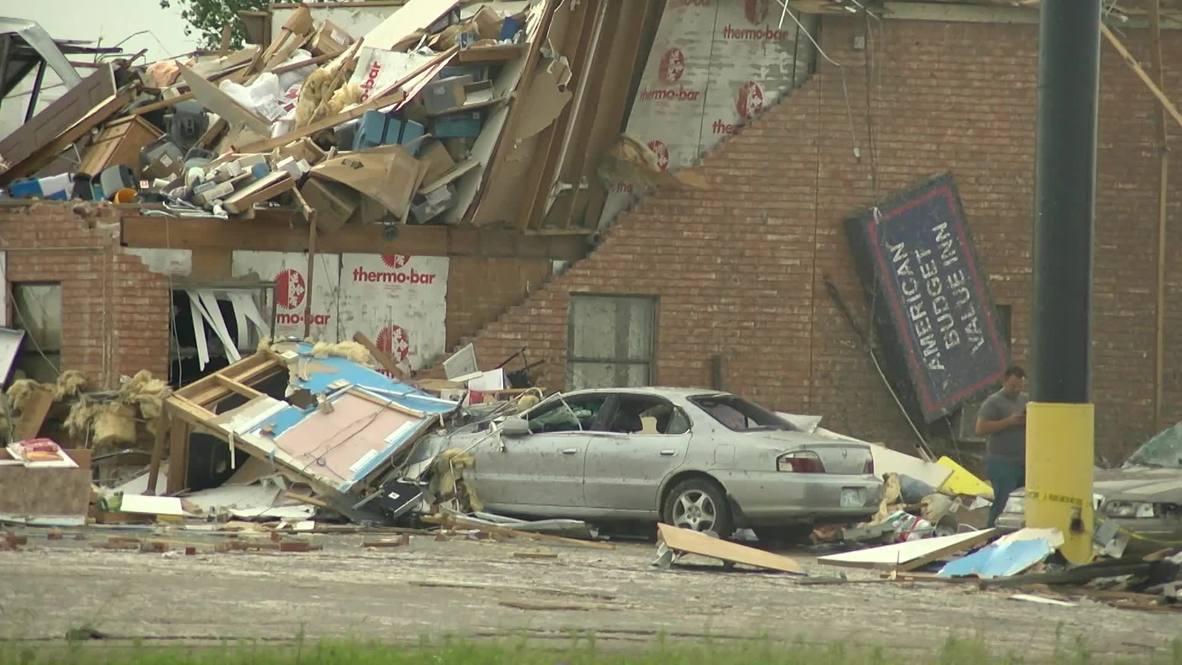 USA: El Reno devastated following deadly tornado