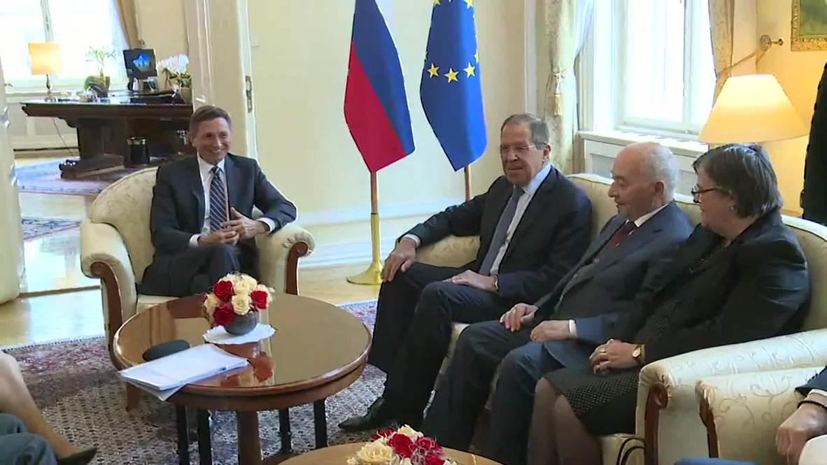 Slovenia: Lavrov meets Slovenian President Pahor in Ljubljana