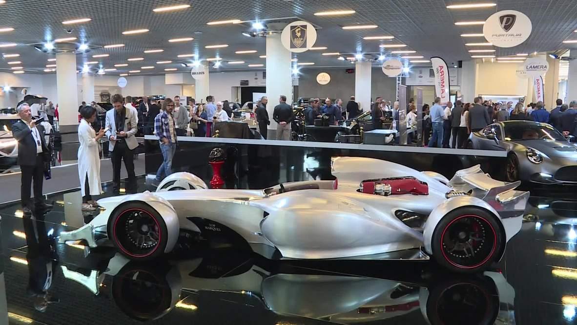 El primer coche de F1 autorizado en la calle es presentado en Top Marques en Mónaco