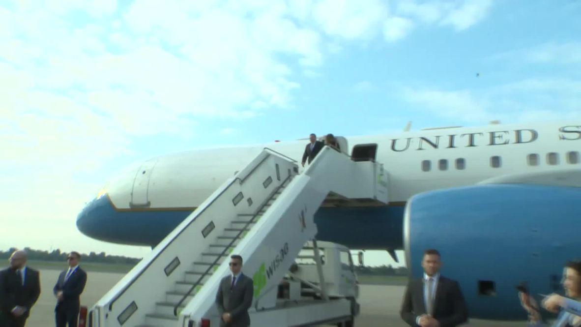 Alemania: Pompeo llega a Berlín como primera etapa de gira europea