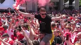 Испания: Красный дым опустился на Мадрид – фанаты Ливерпуля готовятся к игре