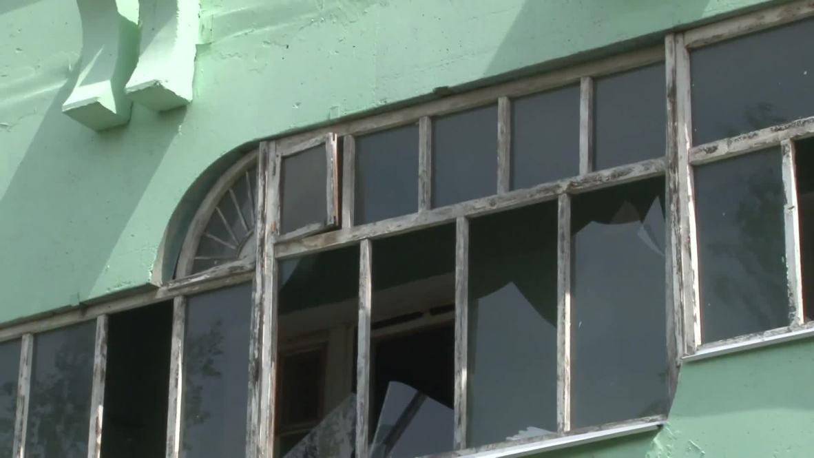 Россия: Из-за взрывов на заводе в Дзержинске многие дома остались без окон
