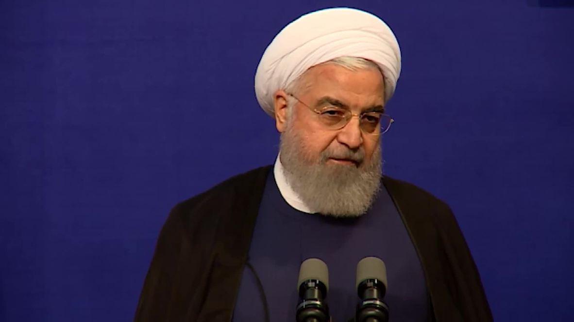 Irán: Rohaní dice que pueden entablar conversaciones si EE.UU. muestra 'respeto'