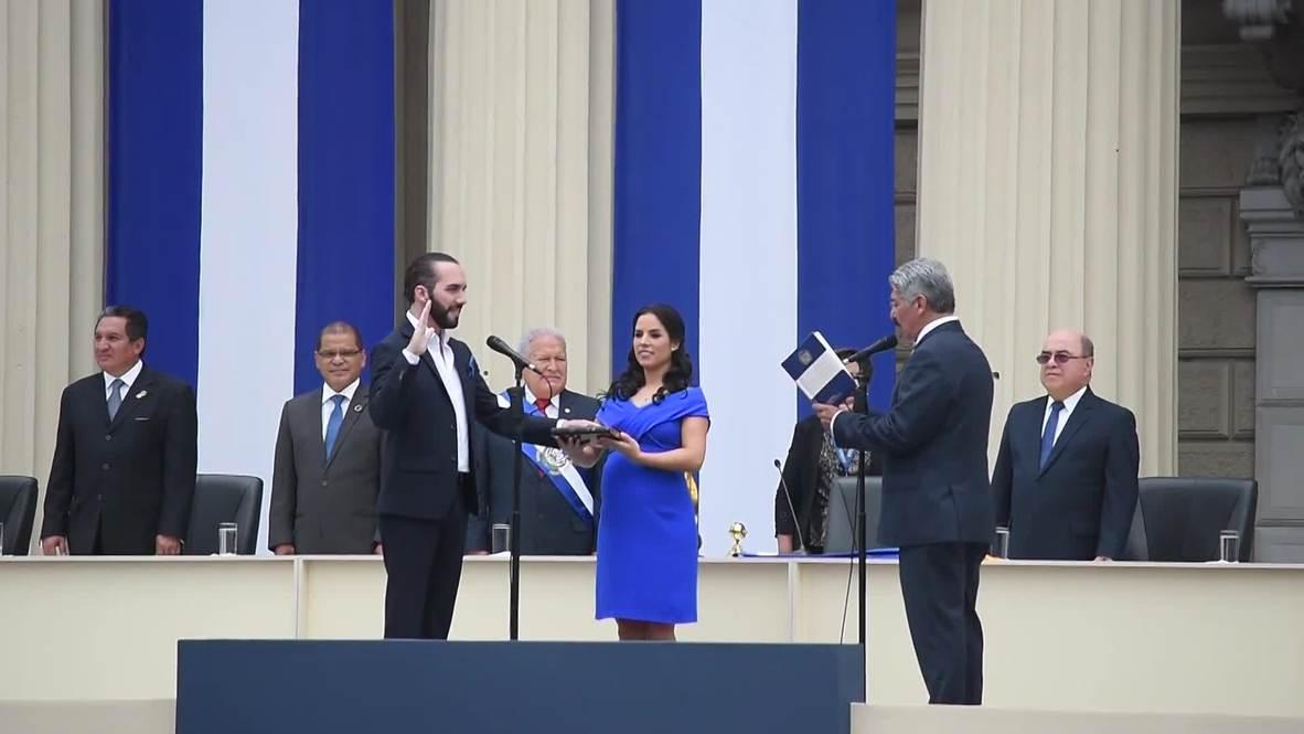 El Salvador: Nayib Bukele jura como nuevo presidente del país