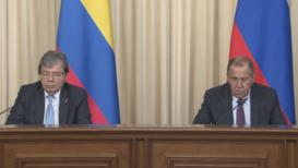 Russia: Lavrov and Colombian FM Trujillo discuss crisis in Venezuela