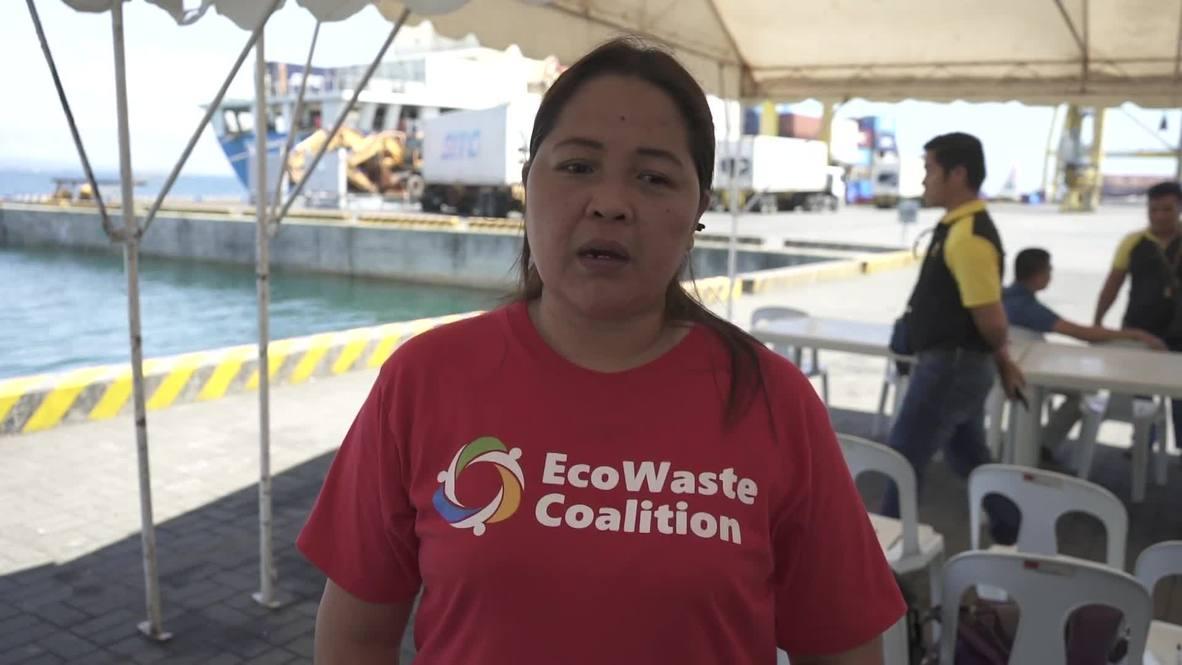 Filipinas: Manila devuelve 25 toneladas de residuos de Hong Kong