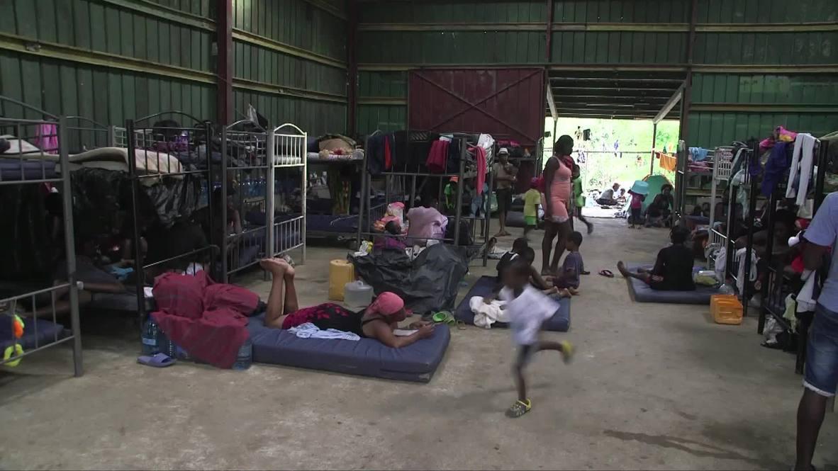 Panama: Migrants make dangerous journey through Darien Gap