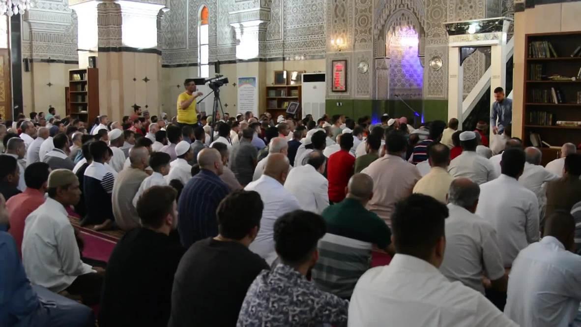 Irak: Musulmanes celebran el Eid al-Fitr en Bagdad