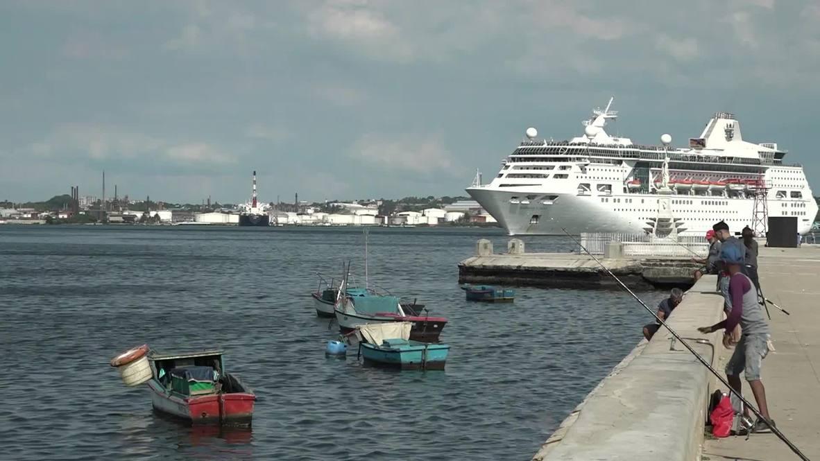 Cuba: Último crucero de Estados Unidos abandona Cuba tras nuevas restricciones