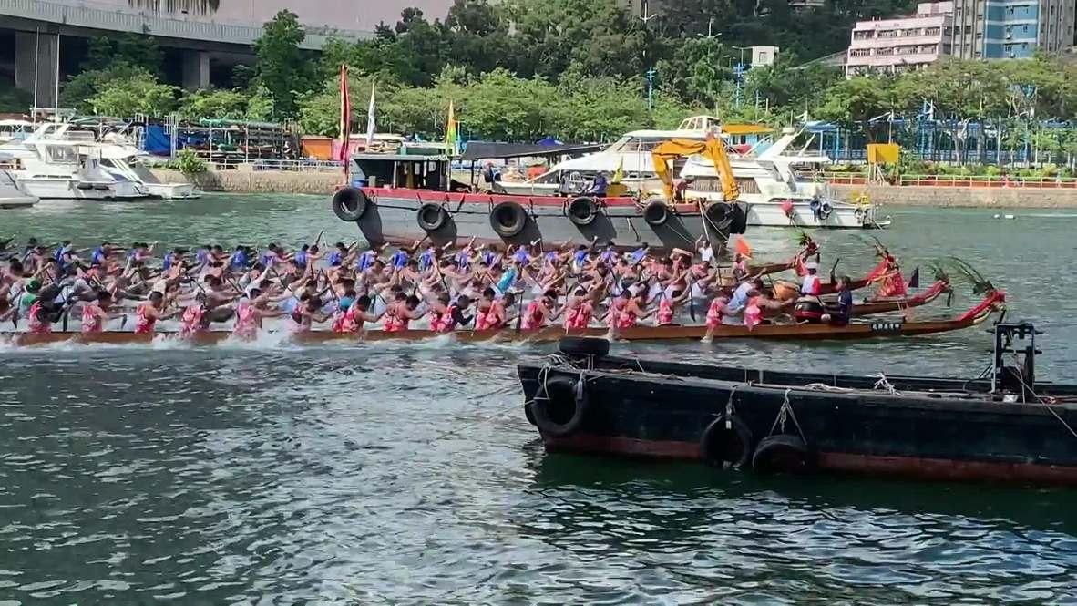 Hong Kong: Dragon Boat Festival kicks off with races, music and food