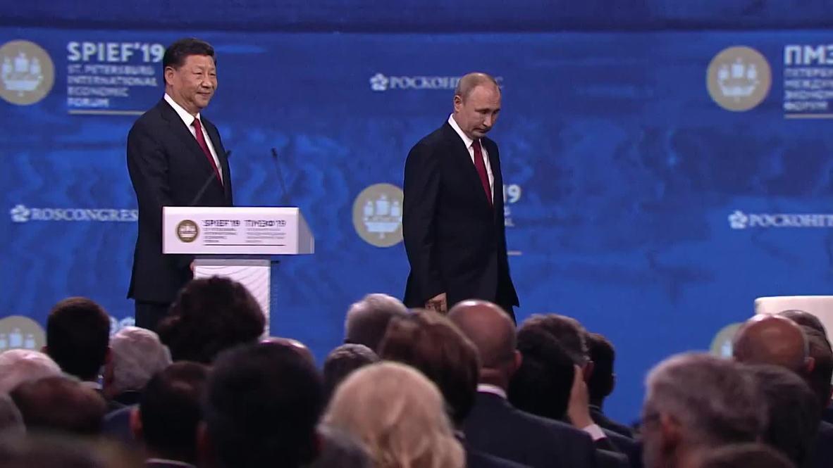 """Россия: Попытки вытеснить Huawei - начало """"первой технологической войны"""" – Путин"""