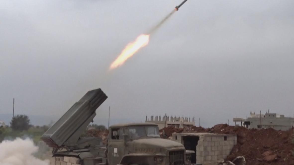 Siria: Intensos combates cerca de Hama para repeler a militantes fundamentalistas