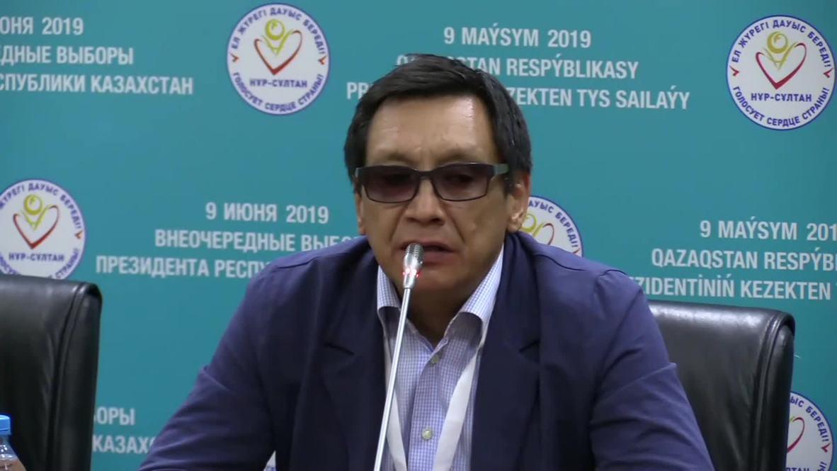 Казахстан: Наблюдатели высоко оценили работу избирательной комиссии на выборах президента