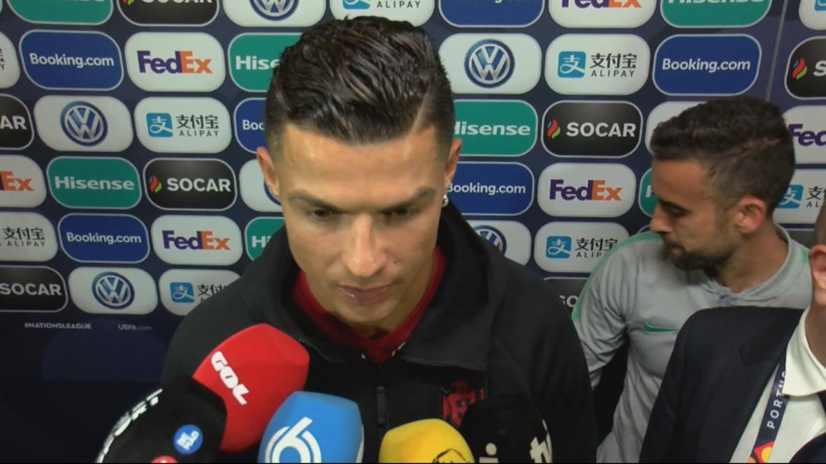 Portugal: Ronaldo `muy contento' tras vencer 1-0 a Holanda y ganar la Liga de las Naciones