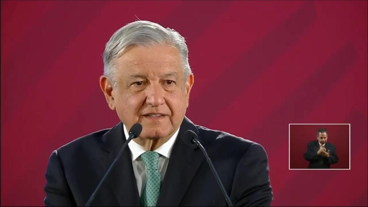 """México: AMLO se muestra """"feliz"""" con la solución a la disputa arancelaria con EE.UU."""