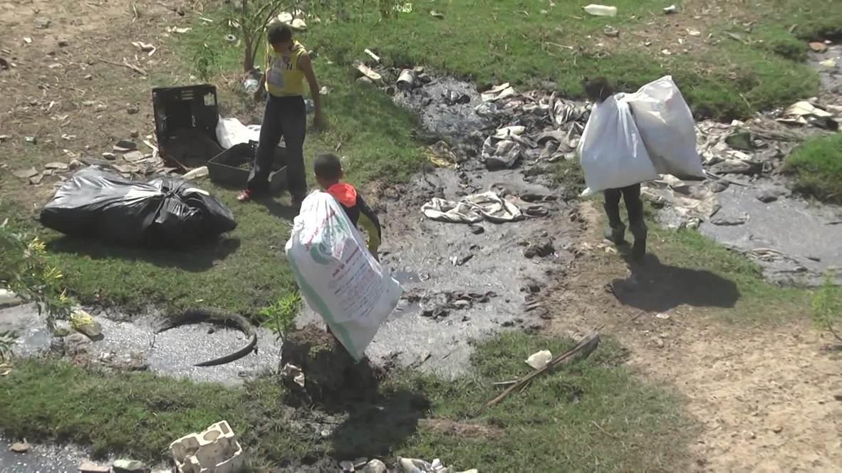 Estado de Palestina: Aumenta crisis de agua en el asediado valle de Gaza
