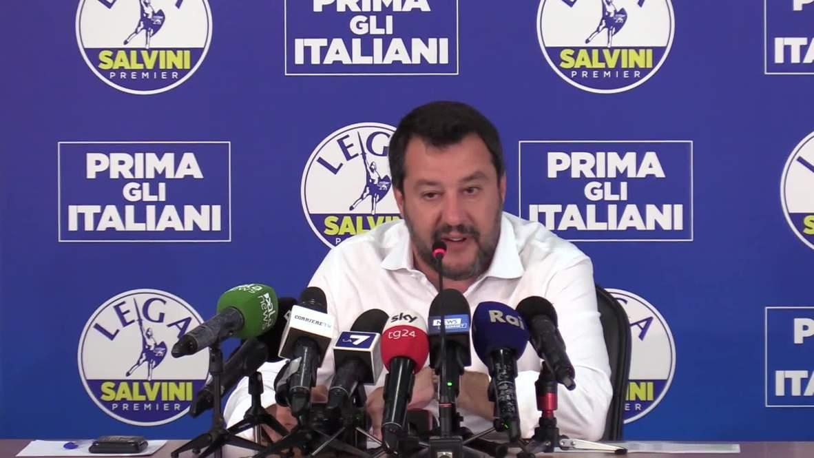 Italy: 'We save lives' - Salvini replies to Pope's plea