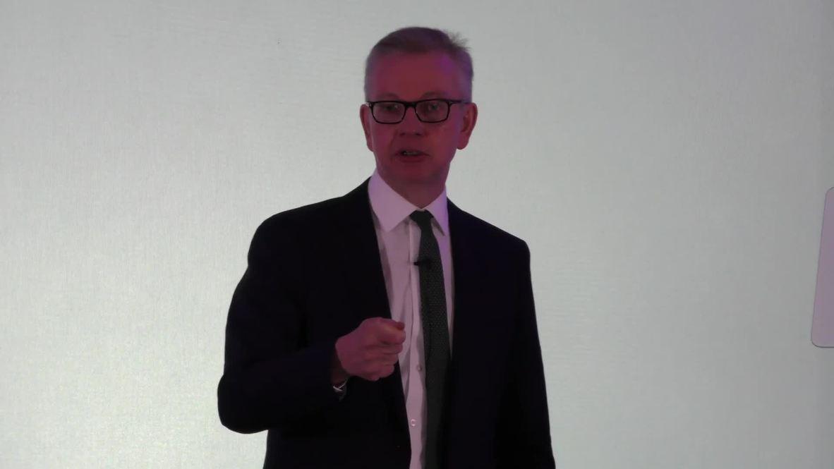 UK: Environment Sec. Gove presses on with Tory leadership bid despite cocaine row