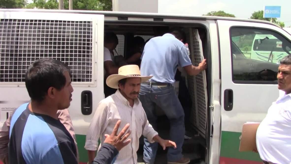 México: Refuerzan la seguridad fronteriza en Chiapas para frenar el flujo migratorio