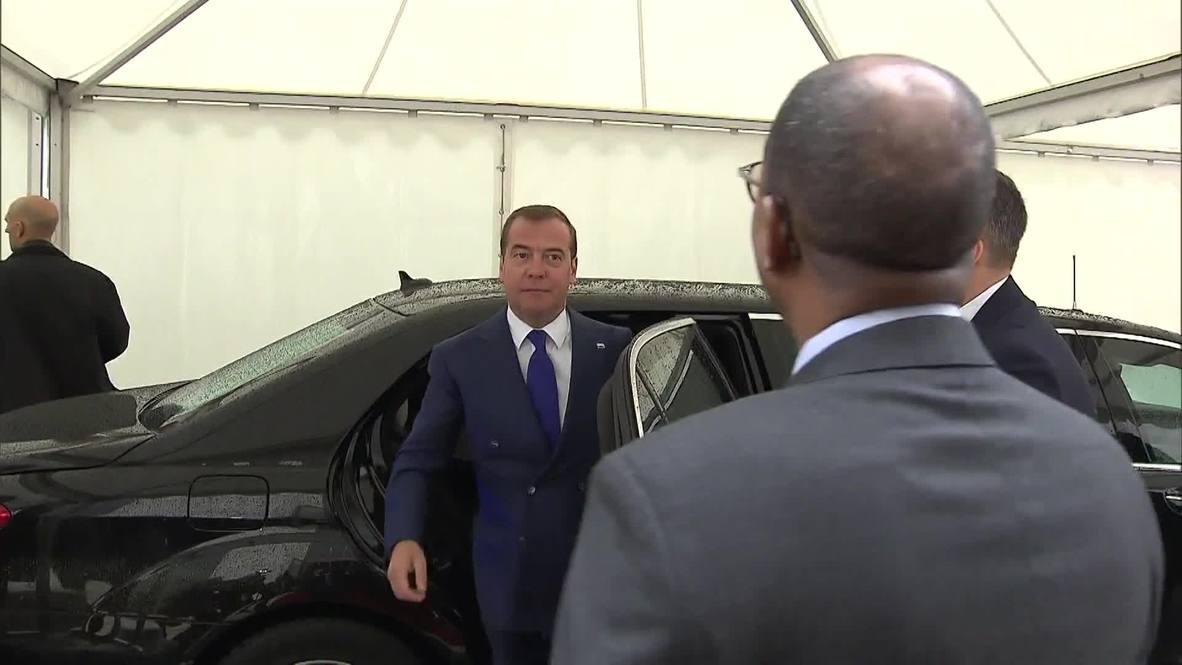 """Швейцария: """"Будущее за четырехдневной рабочей неделей"""" - Медведев на конференции МОТ"""