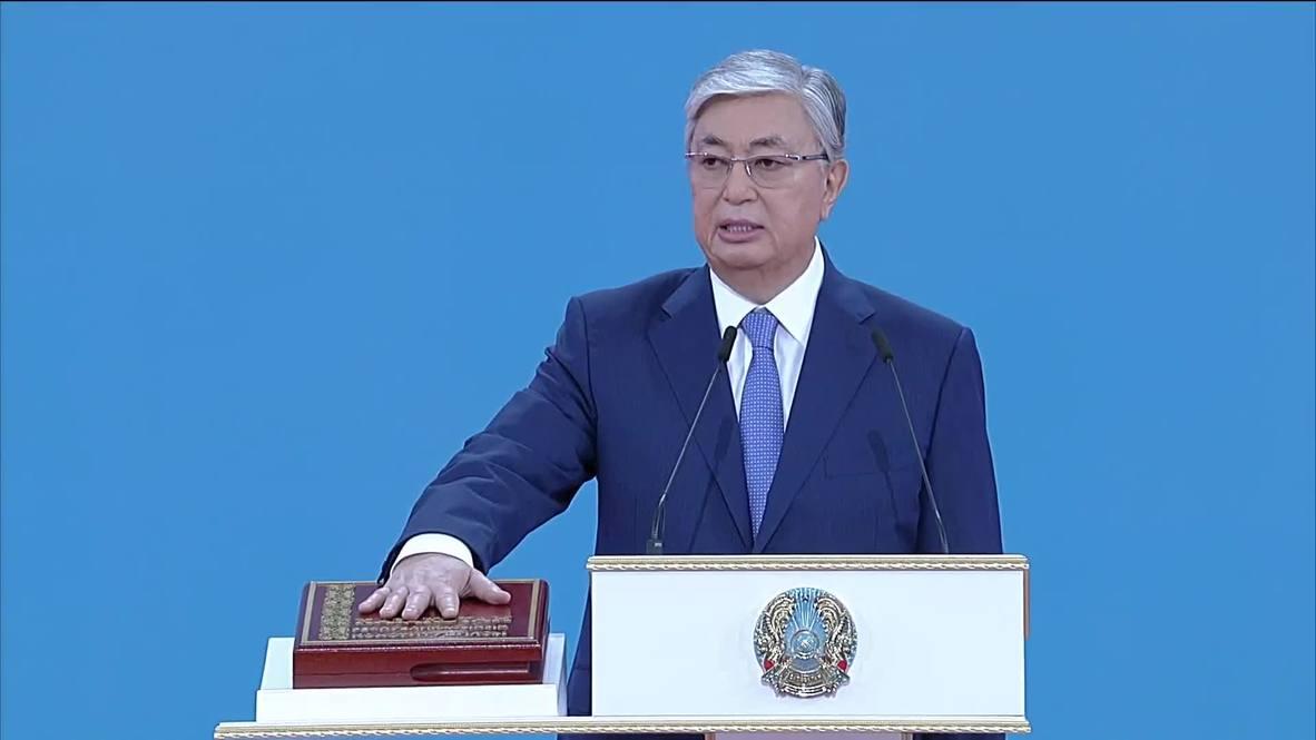 Казахстан: Касым-Жомарт Токаев вступил в должность президента страны