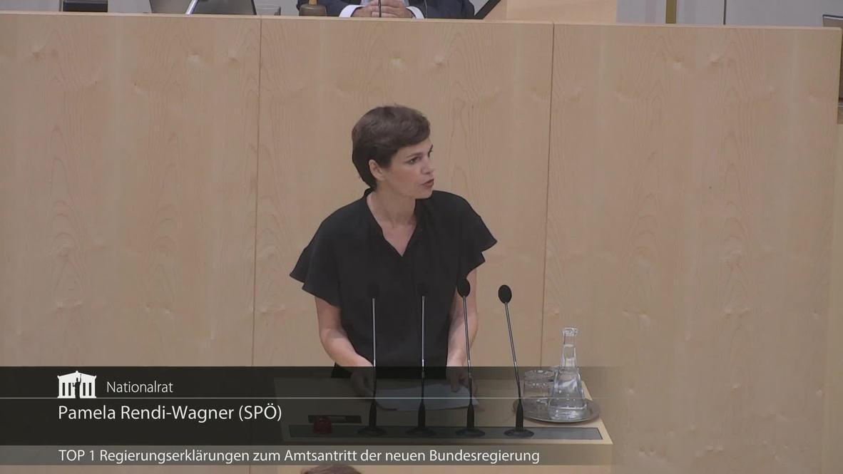 Austria: Interim government introduces itself following Kurz ousting