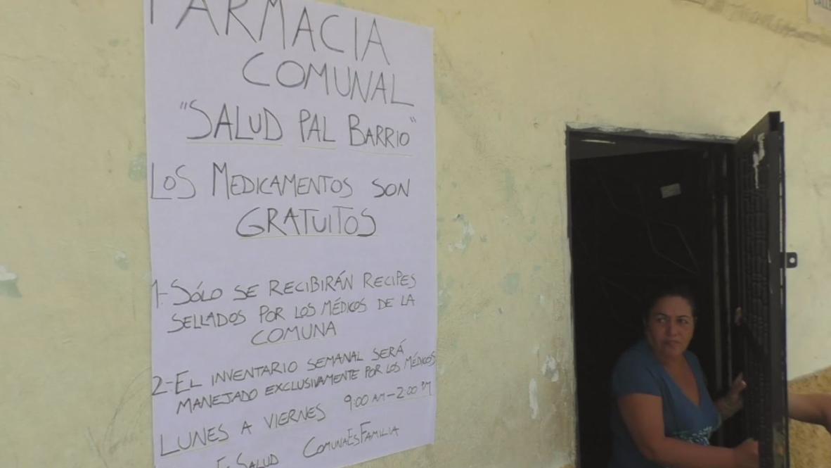 Venezuela: Caracas neighbours organise community pharmacy due to drug shortage