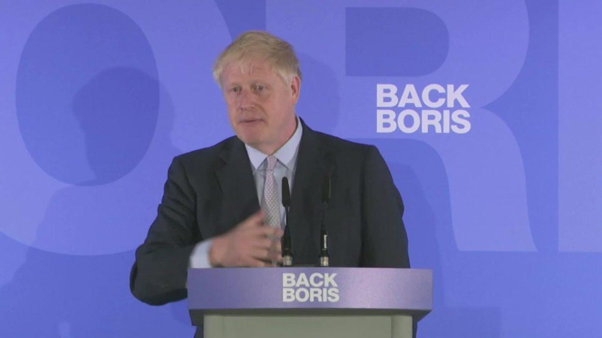 Reino Unido: Boris Johnson dice que Brexit sin acuerdo es una 'herramienta vital de negociación'