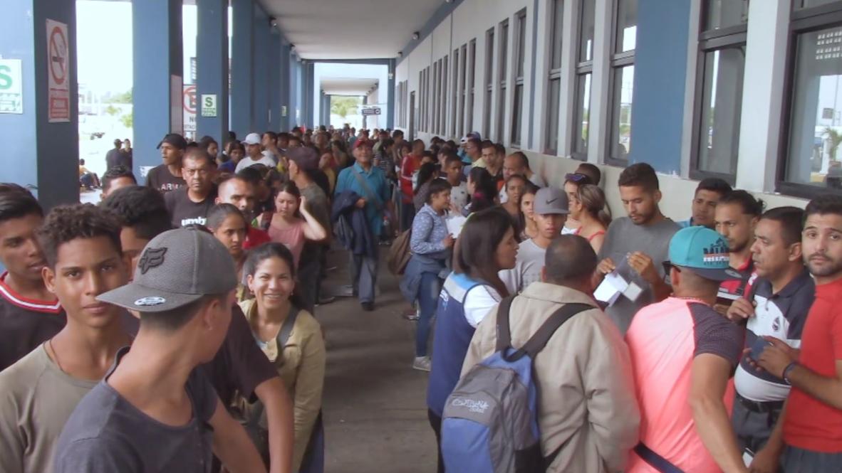 Peru: Number of Venezuelan migrants entering through northern border doubles
