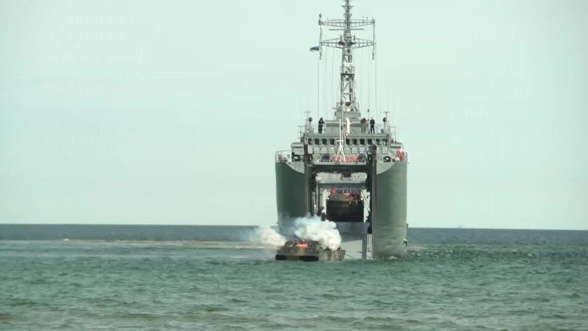 Estonia: Naval drills kick off on Saaremaa Island on fifth day of BALTOPS