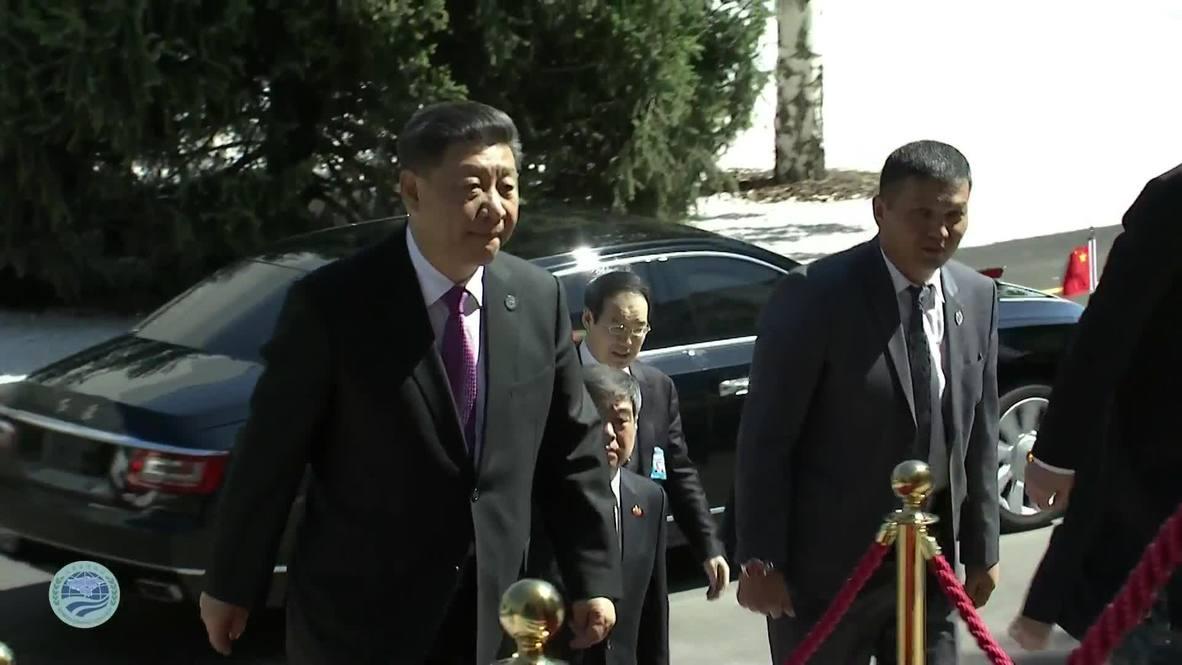 Kirguistán: Putin, Xi y otros líderes de la OCS se reúnen en Biskek