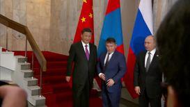 Kyrgyzstan: Putin, Xi and Mongolia's Battulga meet at SCO summit