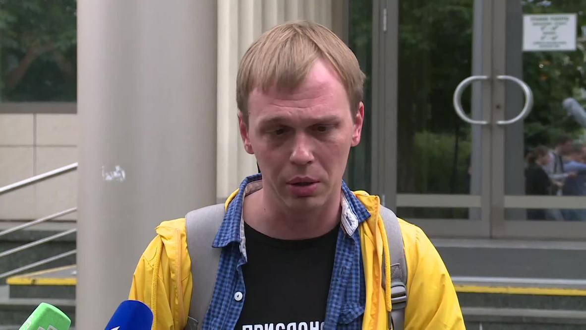 Rusia: 'Tengo ataques de pánico' - Golunov sobre su desestimado caso por tráfico de drogas