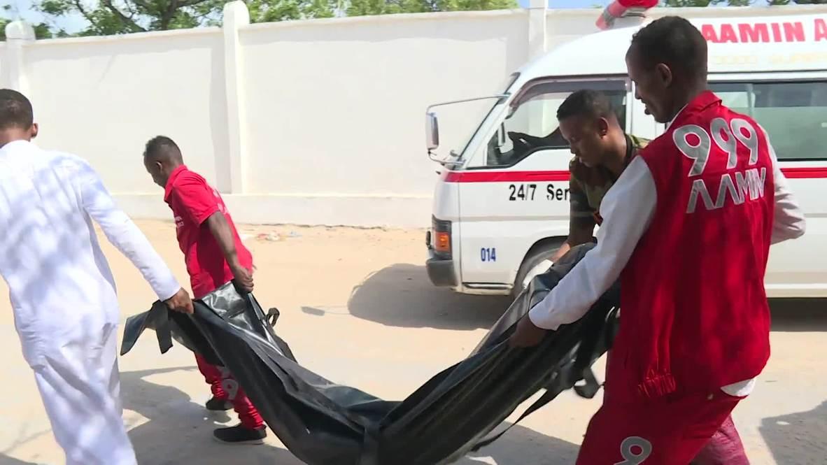 Somalia: Blast near Mogadishu Parliament kills at least 8
