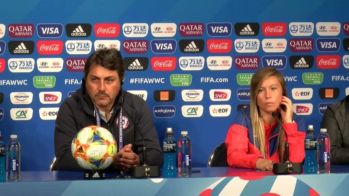 France: Chile hopeful of causing upset against tournament favourites USA