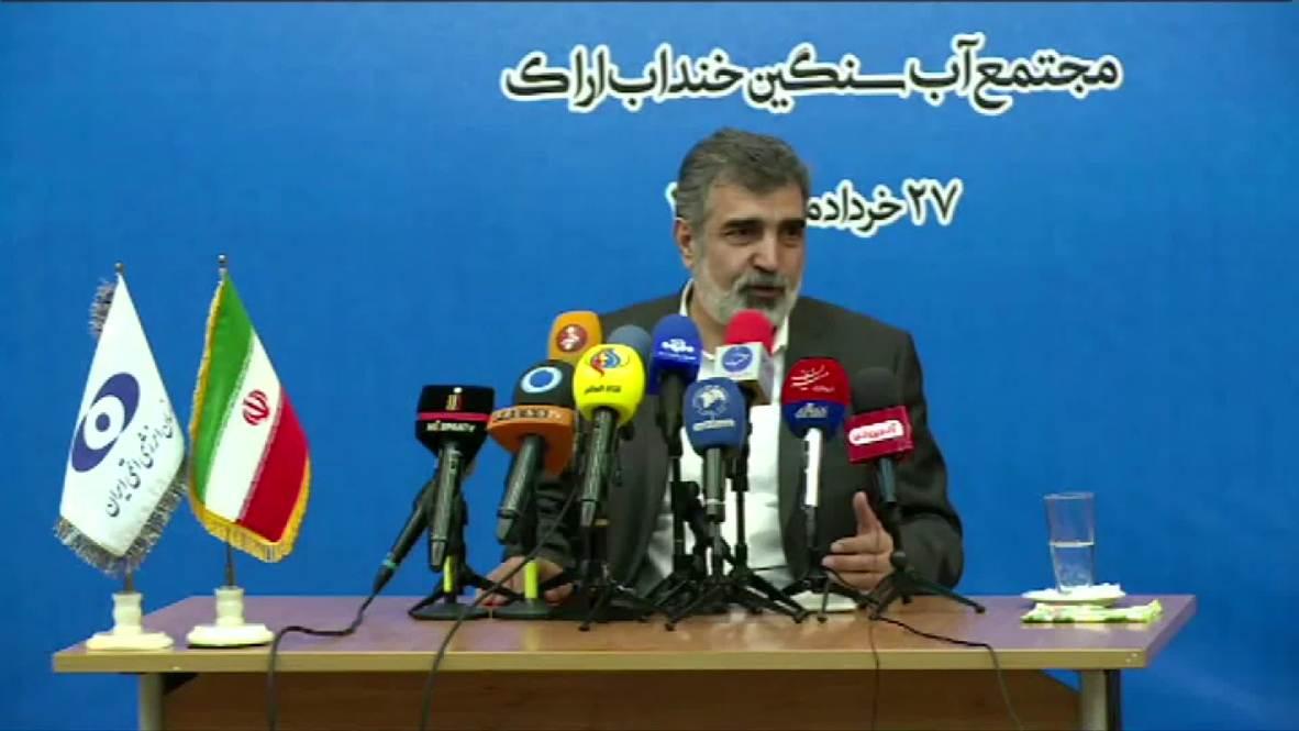 Irán: Teherán superará en 10 días el el límite de uranio establecido en el acuerdo nuclear