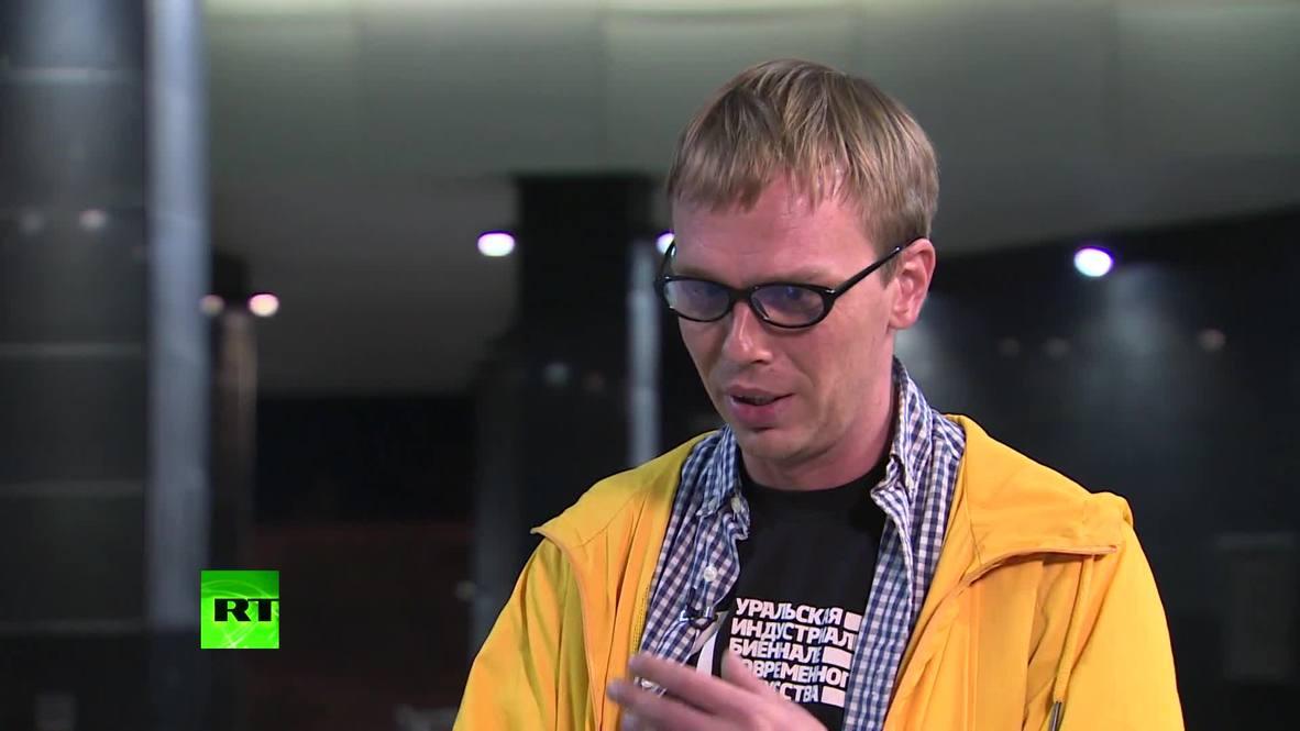 Rusia: Periodista Golunov habla de presunto maltrato durante su detención *EXCLUSIVO* *CONTENIDO DE SOCIOS*