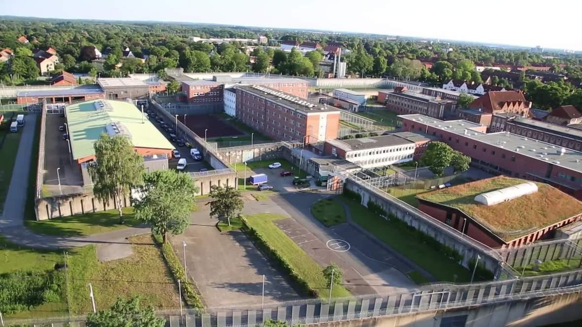 Alemania: Preso armado toma a mujer como rehén en cárcel de Lübeck
