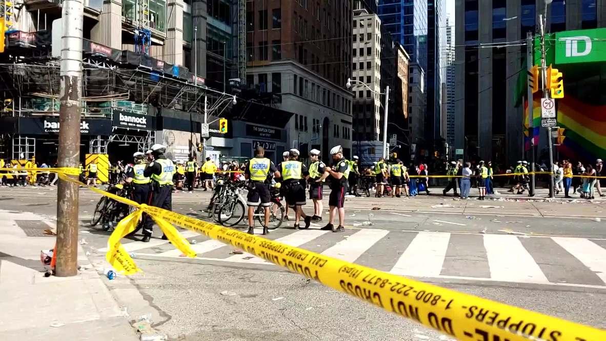 Canadá: Policía acordona área luego de tiroteo en desfile de la victoria de los Toronto Raptors